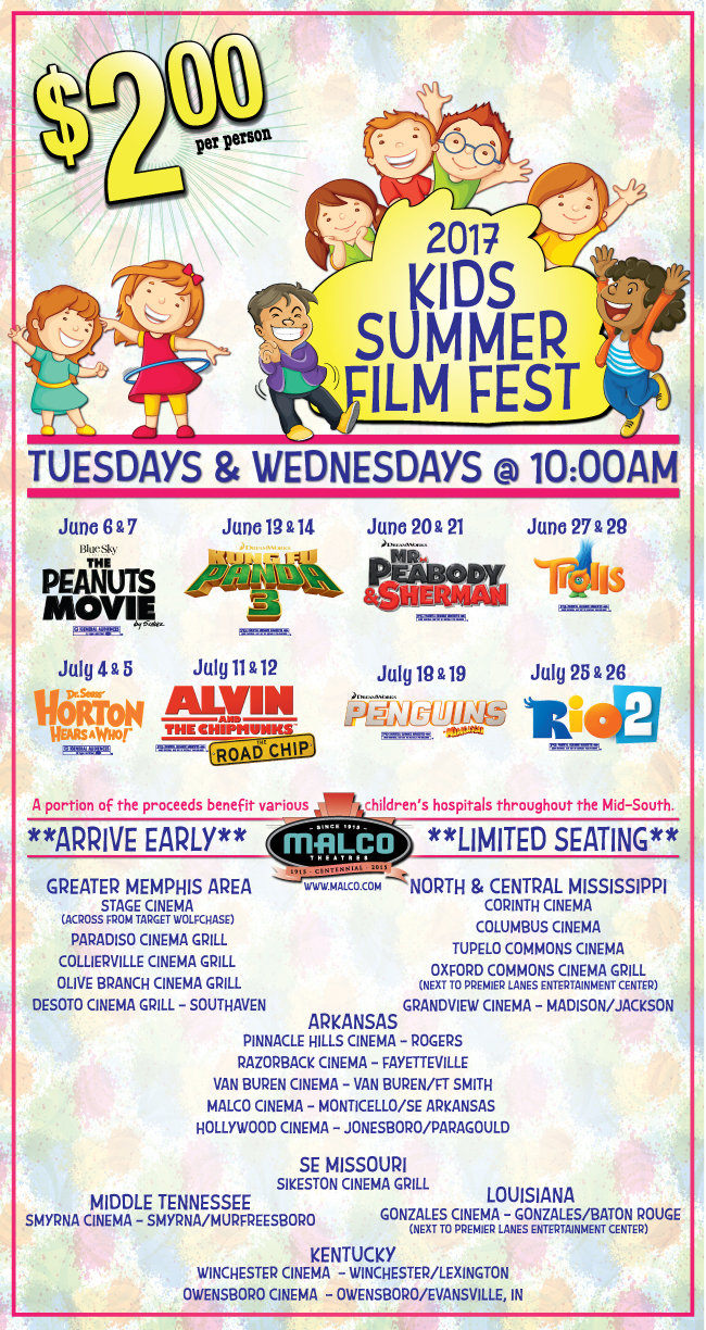 Malco Theatres - kids2017